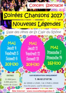 Concert Nouvelles Legendes