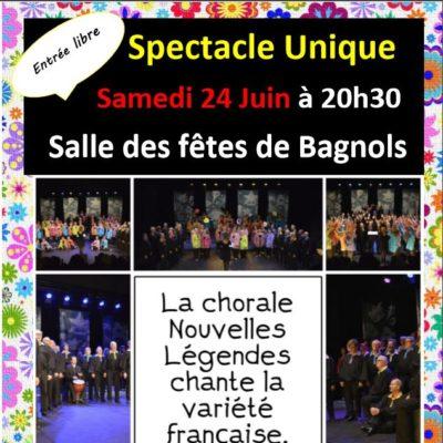 Concert Bourboule affiche Nouvelles legendes