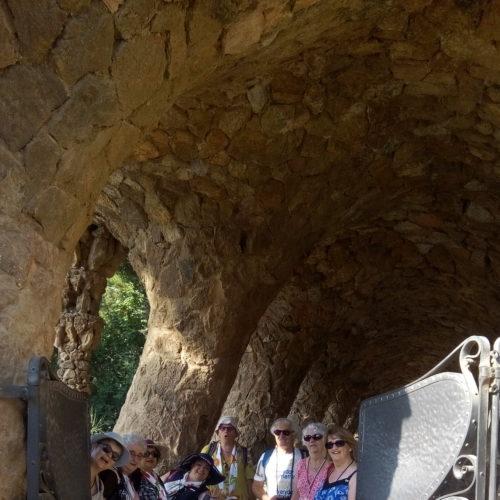 Nous visitons également le Parc Guell