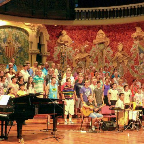 le concert au palais de la musique, la récompense d'une semaine intense